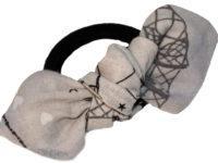 Mon nœud élastique intemporel gris