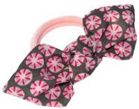 Mon nœud élastique série limitée rose clair rosasse grise et rose