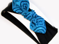 Mon bandeau nœud série limitée pointillés bleus