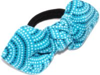 Mon nœud élastique série limitée Les pointillés bleus